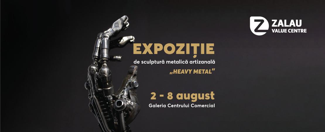 expozitie sculptura metal